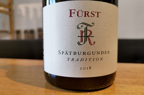 2018 Spätburgunder TRADITION, Paul Fürst