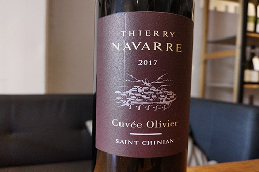 2017 OLIVIER St. Chinian, Thierry Navarre