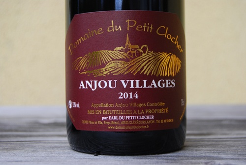 2015 Anjou Villages rouge, Domaine du Petit Clocher