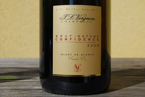 2009 Champagne Confidence Brut Nature Grand Cru, J.L. Vergnon