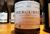2015 Mercurey rouge LE PIERRIER, Michel Sarrazin